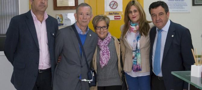 Visita del Presidente de Diputación y el Delegado de Desarrollo y Bienestar Social
