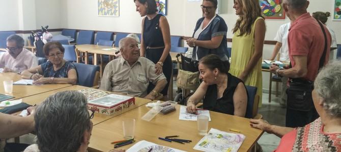 Visita de la Alcaldesa Patricia Cavada