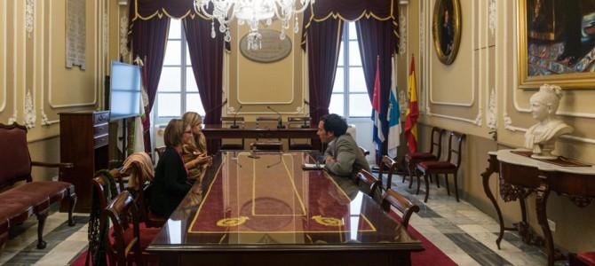 Párkinson Bahía de Cádiz se reúne con Ayuntamiento de Cádiz
