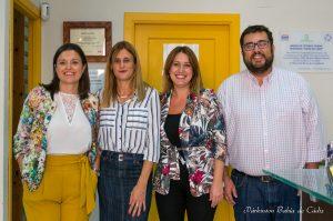 Visita de la diputada a Párkinson Bahía de Cádiz