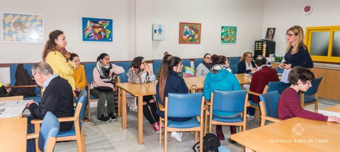 Visita de los alumnos del Instituto Las Salinas